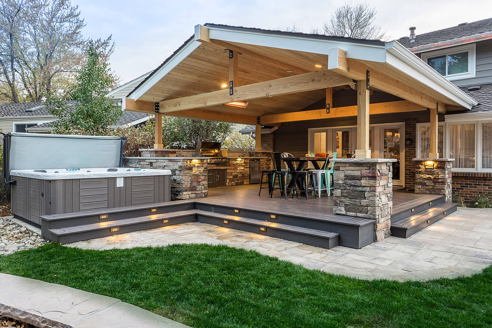 Architectural Landscape Design - Denver Colorado ... on Outdoor Living And Landscapes id=88809