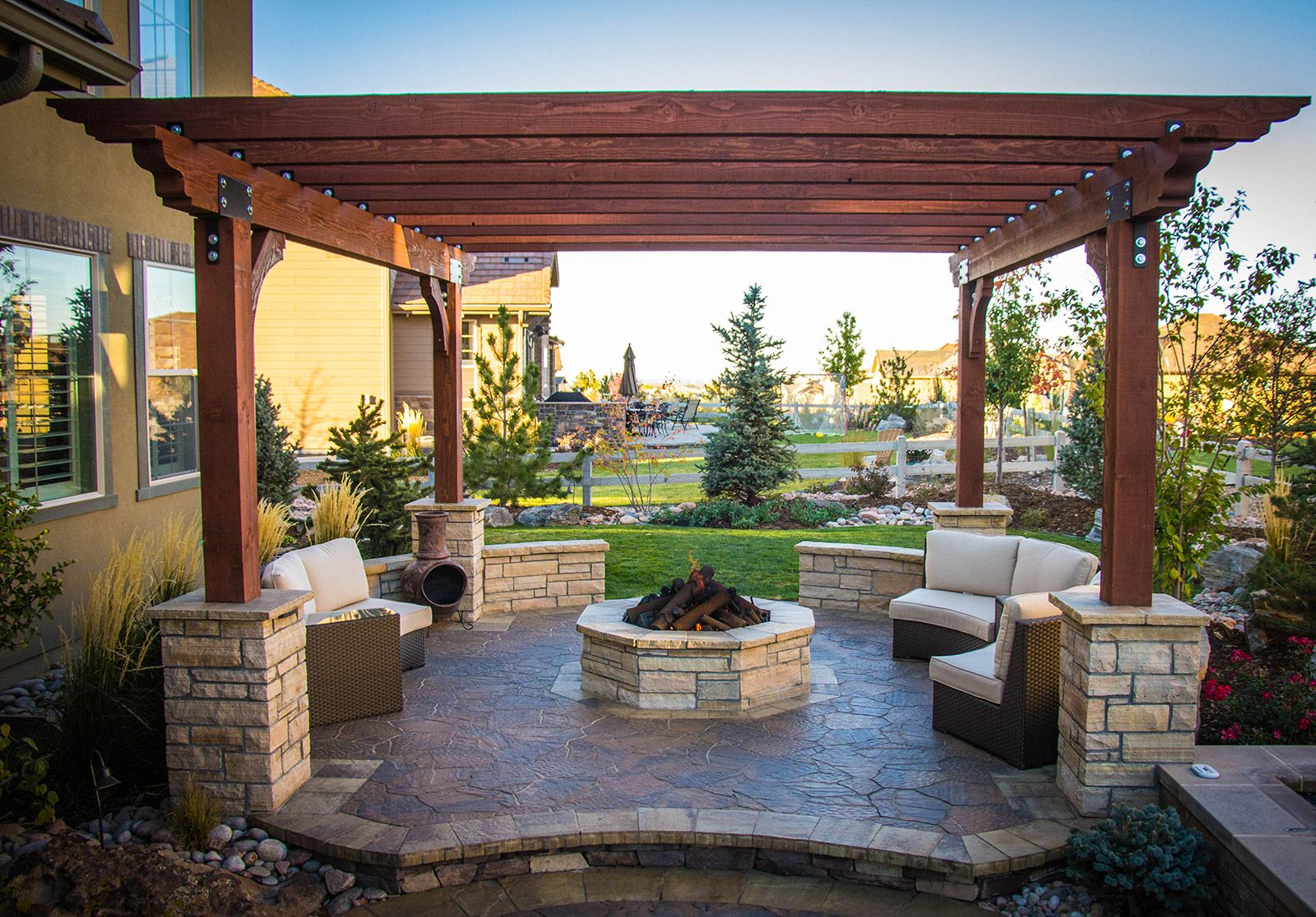 Outdoor Living Spaces & Structures - Elite Landscape ... on Elite Landscape And Outdoor Living id=85609